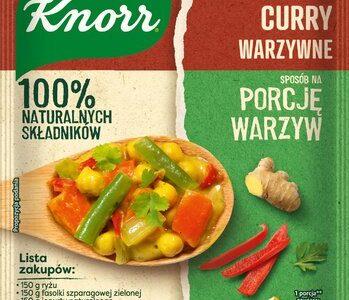 Nowość – Fixy Sposób na porcję warzyw Knorr