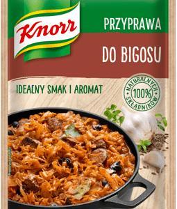 Nowe przyprawy Knorr, czyli smacznie na jesień – Przyprawa do bigosu / Przyprawa do zup / Przyprawa do flaków oraz Papryka wędzona w Hiszpanii