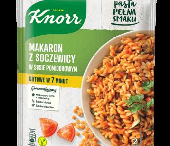 Nowość Pasta pełna smaku Knorr – prościej i smaczniej być nie może