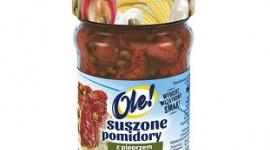 Suszone pomidory z pieprzem marynowanym w oleju z ziołami od OLE!